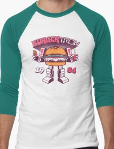 BurgerTRON Men's Baseball ¾ T-Shirt