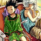 HxH - Train by banafria