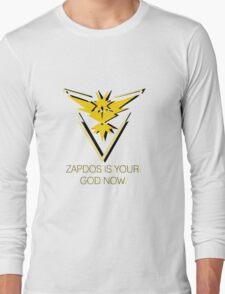 Team Instinct - Zapdos Is Your God Long Sleeve T-Shirt