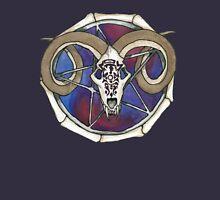 Ram Skull Pentagram Zipped Hoodie