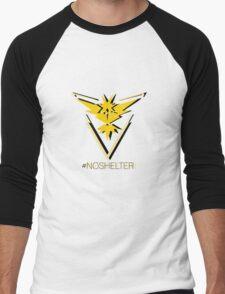 Team Instinct - #noshelter Men's Baseball ¾ T-Shirt