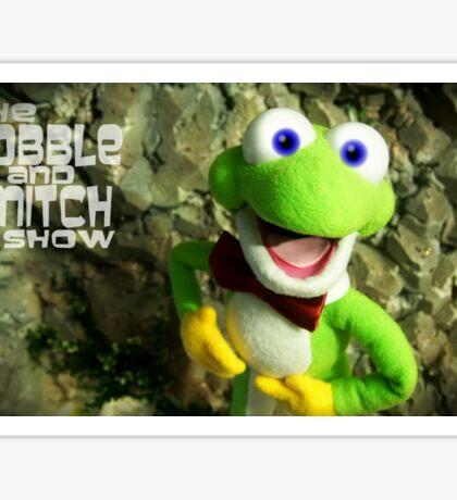 Little Jake Frog Sticker