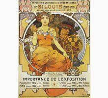 Alphonse Mucha - Exposition Universelle  Internationale De St Louis Unisex T-Shirt