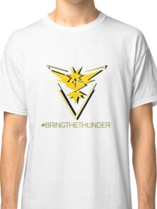 Team Instinct - #bringthethunder Classic T-Shirt
