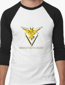 Team Instinct - #bringthethunder Men's Baseball ¾ T-Shirt