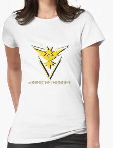 Team Instinct - #bringthethunder Womens Fitted T-Shirt