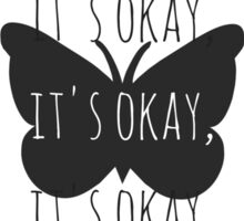 """It's Okay"" from Steven Universe B Sticker"