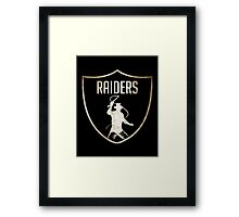 Raiders-Raiders Framed Print