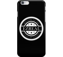 League Of Legends Badge Champion Ezreal - White Text iPhone Case/Skin