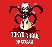 mini ghoul kaneki chibi white text  Unisex T-Shirt