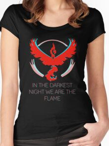 Team Valor - The Darkest Night Women's Fitted Scoop T-Shirt