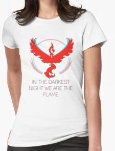 Team Valor - The Darkest Night Womens Fitted T-Shirt
