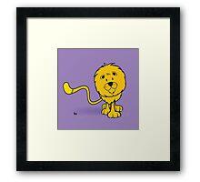 funny zodiac/leo Framed Print