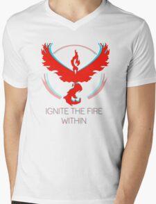 Team Valor - Ignite The Fire Mens V-Neck T-Shirt