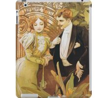 Alphonse Mucha - Flirt - Biscuits Lefevre Utile iPad Case/Skin