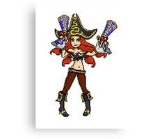 Pixel Miss Fortune Canvas Print
