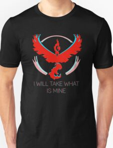 Team Valor - I Will Take What Is Mine Unisex T-Shirt