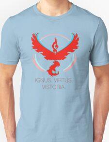 Team Valor - Ignus, Virtus, Vistoria Unisex T-Shirt