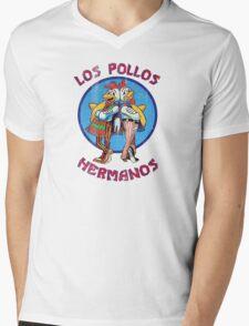 VIntage Los Pollos Hermanos Mens V-Neck T-Shirt