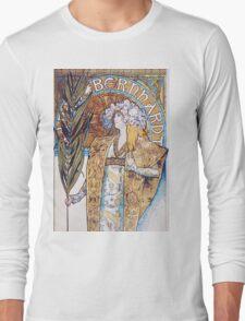 Alphonse Mucha - Gismonda  Long Sleeve T-Shirt