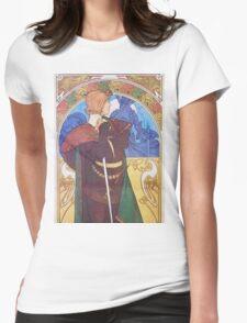 Alphonse Mucha - Hamlet Womens Fitted T-Shirt