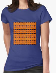Orange Poppy Big (VN.24) Womens Fitted T-Shirt