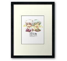 kamisama chibis Framed Print