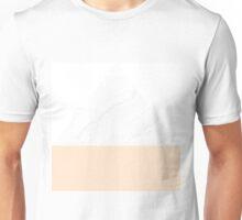 Marble Peach Geometry Unisex T-Shirt