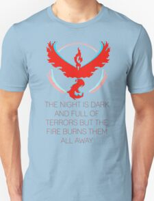 Team Valor - The Night Is Dark Unisex T-Shirt