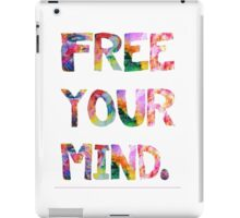Free Your Mind iPad Case/Skin