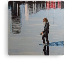 Her Reflections Canvas Print