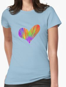 Cool Tie-Dye Heart T-Shirt