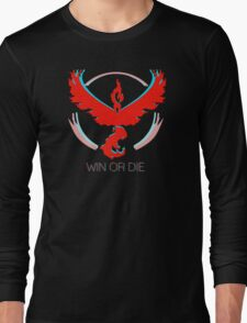 Team Valor - Win or Die Long Sleeve T-Shirt