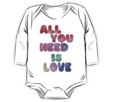 All You Need Is Love One Piece - Long Sleeve
