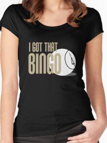 I Got That Bingo - Impractical Jokers Women's Fitted Scoop T-Shirt