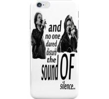 Simon & Garfunkel-The Sound Of Silence iPhone Case/Skin