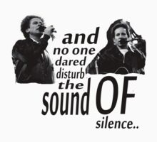 Simon & Garfunkel-The Sound Of Silence Kids Clothes