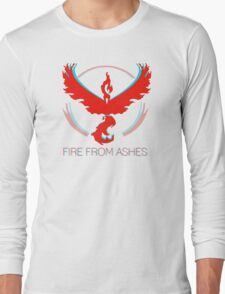 Team Valor - Fire From Ashes Long Sleeve T-Shirt