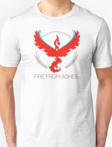 Team Valor - Fire From Ashes Unisex T-Shirt