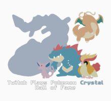 Twitch Plays Pokemon - Pokemon Crystal - Final Five by KatyM