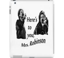 Simon & Garfunkel-Mrs. Robinson iPad Case/Skin