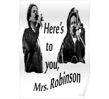 Simon & Garfunkel-Mrs. Robinson Poster