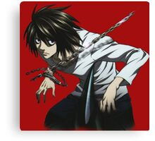Death_Note Canvas Print