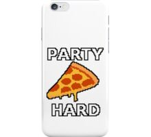 Party Hard Pizza Pixel Art iPhone Case/Skin