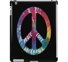 Peace, Love, Rock N' Roll iPad Case/Skin