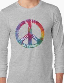 Peace, Love, Rock N' Roll Long Sleeve T-Shirt