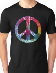Peace, Love, Rock N' Roll Unisex T-Shirt