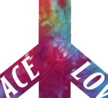 Peace, Love, Rock N' Roll Sticker