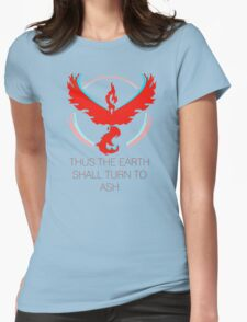 Team Valor - To Ash Womens Fitted T-Shirt