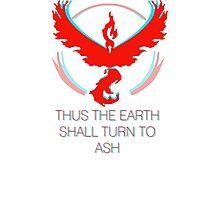 Team Valor - To Ash Photographic Print